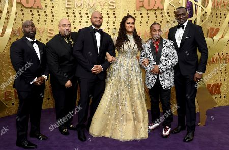 Antron McCray, Raymond Santana, Kevin Richardson, Ava DuVernay, Korey Wise, Yusef Salaam. Ava DuVernay, center, is joined by Antron McCray, Raymond Santana, Kevin Richardson, Korey Wise and Yusef Salaam, of the Central Park 5, during arrivals of the 71st Primetime Emmy Awards, at the Microsoft Theater in Los Angeles