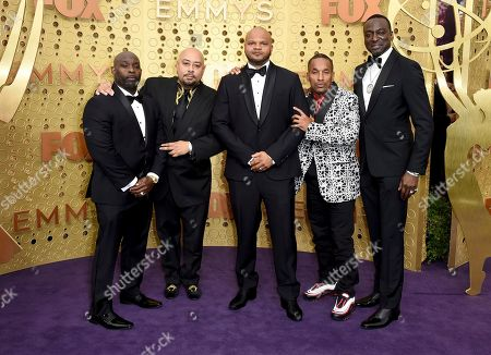 Antron McCray, Raymond Santana, Kevin Richardson, Ava DuVernay, Korey Wise, Yusef Salaam. Antron McCray, from left, Raymond Santana, Kevin Richardson, Korey Wise and Yusef Salaam, of the Central Park 5, arrive at the 71st Primetime Emmy Awards, at the Microsoft Theater in Los Angeles
