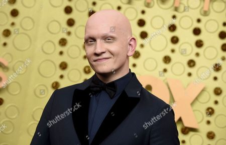 Anthony Carrigan arrives at the 71st Primetime Emmy Awards, at the Microsoft Theater in Los Angeles