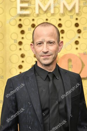 Stock Image of Mike Rubens arrives at the 71st Primetime Emmy Awards, at the Microsoft Theater in Los Angeles