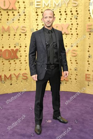 Mike Rubens arrives at the 71st Primetime Emmy Awards, at the Microsoft Theater in Los Angeles