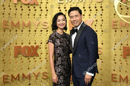 Jae W. Suh, Randall Park. Jae W. Suh, left, and Randall Park arrive at the 71st Primetime Emmy Awards, at the Microsoft Theater in Los Angeles