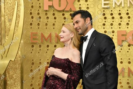 Patricia Clarkson, Darwin Shaw. Patricia Clarkson, left, and Darwin Shaw arrive at the 71st Primetime Emmy Awards, at the Microsoft Theater in Los Angeles