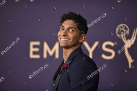 Angel Bismark Curiel arrives at the 71st Primetime Emmy Awards, at the Microsoft Theater in Los Angeles