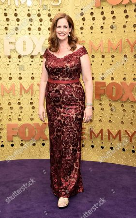 Alison Camillo arrives at the 71st Primetime Emmy Awards, at the Microsoft Theater in Los Angeles