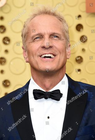 Patrick Fabian arrives at the 71st Primetime Emmy Awards, at the Microsoft Theater in Los Angeles