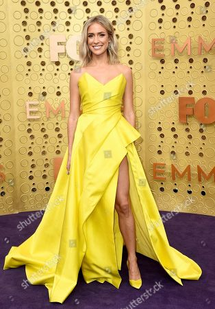 Kristin Cavallari arrives at the 71st Primetime Emmy Awards, at the Microsoft Theater in Los Angeles