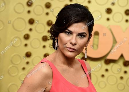 Stock Photo of Nilou Motamed arrives at the 71st Primetime Emmy Awards, at the Microsoft Theater in Los Angeles