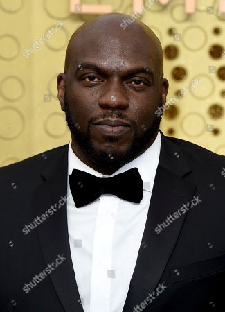 Stock Picture of Omar Dorsey arrives at the 71st Primetime Emmy Awards, at the Microsoft Theater in Los Angeles