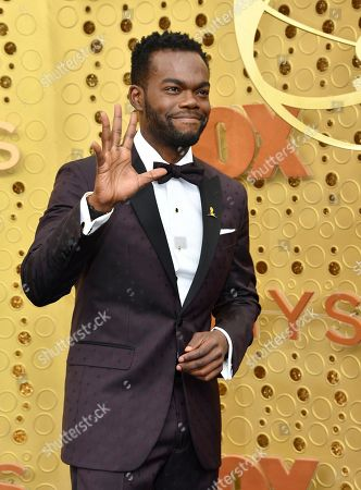 William Jackson Harper arrives at the 71st Primetime Emmy Awards, at the Microsoft Theater in Los Angeles