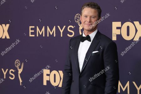 Billy Bush arrives at the 71st Primetime Emmy Awards, at the Microsoft Theater in Los Angeles