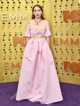 Sarah Sutherland arrives at the 71st Primetime Emmy Awards, at the Microsoft Theater in Los Angeles