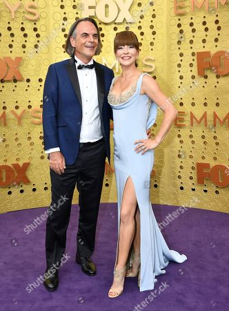 Vince Calandra, Emmanuelle Vaugier. Vince Calandra, left, and Emmanuelle Vaugier arrive at the 71st Primetime Emmy Awards, at the Microsoft Theater in Los Angeles