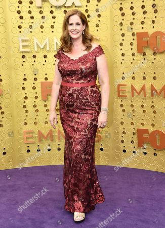 Stock Picture of Alison Camillo arrives at the 71st Primetime Emmy Awards, at the Microsoft Theater in Los Angeles