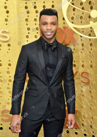 Dyllon Burnside arrives at the 71st Primetime Emmy Awards, at the Microsoft Theater in Los Angeles
