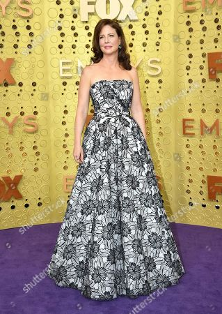 Robin Weigert arrives at the 71st Primetime Emmy Awards, at the Microsoft Theater in Los Angeles