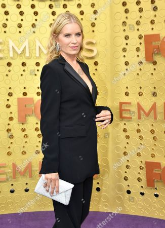 Kim Dickens arrives at the 71st Primetime Emmy Awards, at the Microsoft Theater in Los Angeles