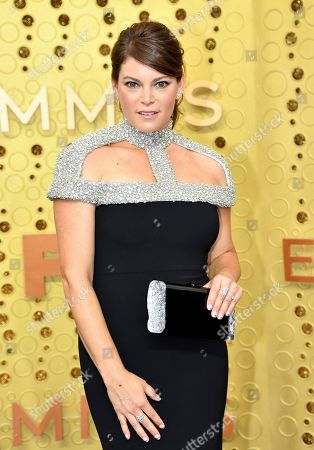 Gail Simmons arrives at the 71st Primetime Emmy Awards, at the Microsoft Theater in Los Angeles