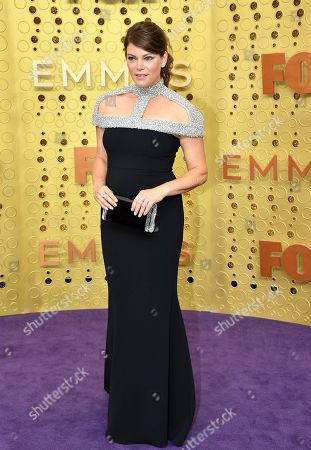 Stock Photo of Gail Simmons arrives at the 71st Primetime Emmy Awards, at the Microsoft Theater in Los Angeles