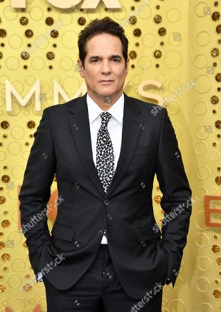 Yul Vazquez arrives at the 71st Primetime Emmy Awards, at the Microsoft Theater in Los Angeles