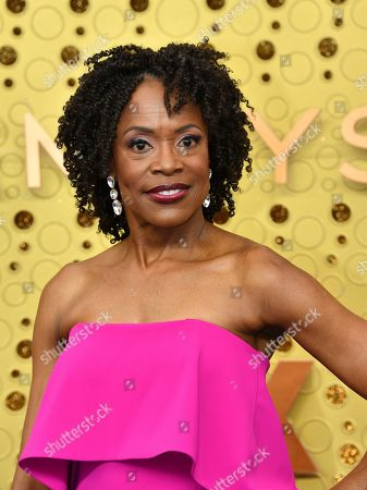 Charlayne Woodard arrives at the 71st Primetime Emmy Awards, at the Microsoft Theater in Los Angeles