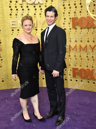 Nicole Fosse, Thomas Kail. Nicole Fosse, left, and Thomas Kail arrive at the 71st Primetime Emmy Awards, at the Microsoft Theater in Los Angeles