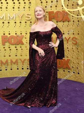 Patricia Clarkson arrives at the 71st Primetime Emmy Awards, at the Microsoft Theater in Los Angeles