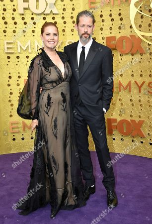 Amy Adams, Darren Le Gallo. Amy Adams, left, and Darren Le Gallo arrive at the 71st Primetime Emmy Awards, at the Microsoft Theater in Los Angeles