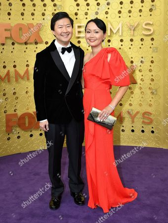 Ken Jeong, Tran Jeong. Ken Jeong, left, and Tran Jeong arrive at the 71st Primetime Emmy Awards, at the Microsoft Theater in Los Angeles