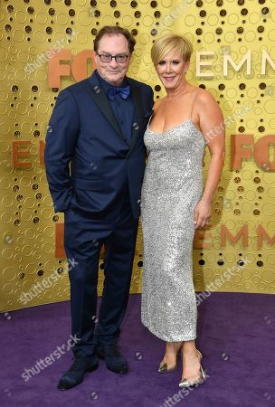 Stephen Root, Romy Rosemont. Stephen Root, left, and Romy Rosemont arrive at the 71st Primetime Emmy Awards, at the Microsoft Theater in Los Angeles