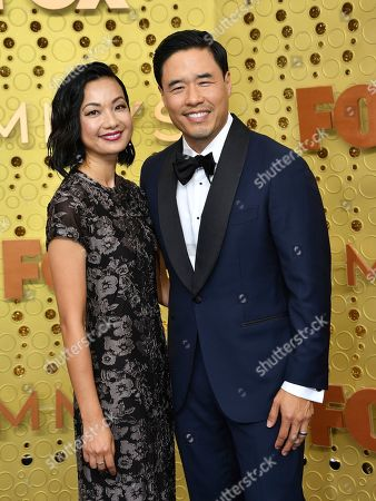 Randall Park, Jae Suh Park. Jae Suh Park, left, and Randall Park arrive at the 71st Primetime Emmy Awards, at the Microsoft Theater in Los Angeles