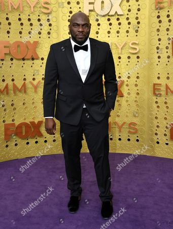 Omar Dorsey arrives at the 71st Primetime Emmy Awards, at the Microsoft Theater in Los Angeles