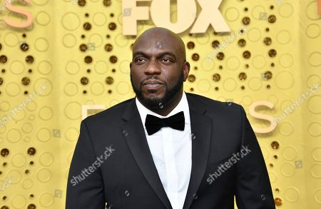 Stock Image of Omar Dorsey arrives at the 71st Primetime Emmy Awards, at the Microsoft Theater in Los Angeles