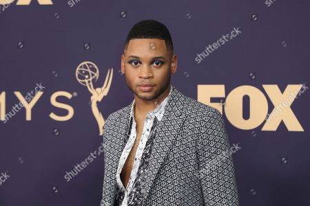 Ryan Jamaal Swain arrives at the 71st Primetime Emmy Awards, at the Microsoft Theater in Los Angeles
