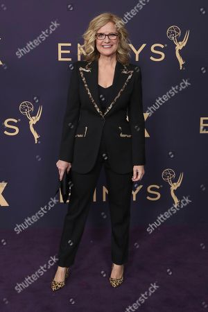 Bonnie Hunt arrives at the 71st Primetime Emmy Awards, at the Microsoft Theater in Los Angeles