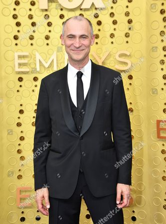 Stock Image of Joel Fields arrives at the 71st Primetime Emmy Awards, at the Microsoft Theater in Los Angeles