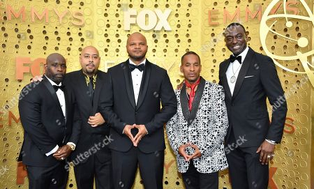 Antron McCray, Raymond Santana, Kevin Richardson, Korey Wise, Yusef Salaam. Antron McCray, from left, Raymond Santana, Kevin Richardson, Korey Wise and Yusef Salaam arrive at the 71st Primetime Emmy Awards, at the Microsoft Theater in Los Angeles
