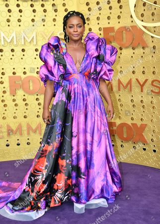 Lilly Singh arrives at the 71st Primetime Emmy Awards, at the Microsoft Theater in Los Angeles