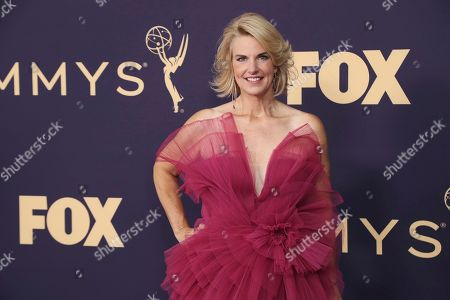Sarah Kate Ellis arrives at the 71st Primetime Emmy Awards, at the Microsoft Theater in Los Angeles