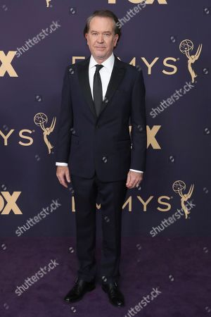 Timothy Hutton arrives at the 71st Primetime Emmy Awards, at the Microsoft Theater in Los Angeles