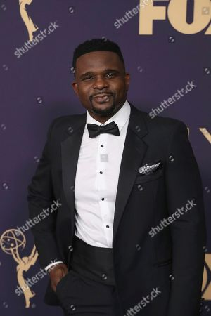 Darius McCrary arrives at the 71st Primetime Emmy Awards, at the Microsoft Theater in Los Angeles