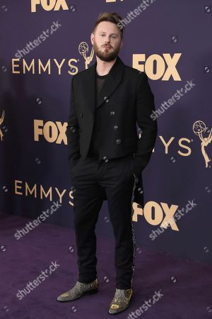 Bobby Berk arrives at the 71st Primetime Emmy Awards, at the Microsoft Theater in Los Angeles
