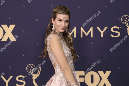 Stock Picture of Rachel McCord arrives at the 71st Primetime Emmy Awards, at the Microsoft Theater in Los Angeles