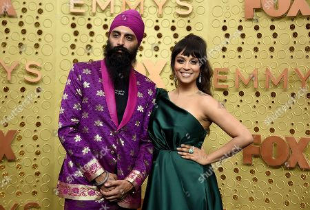 Humble the Poet, Lilly Singh. Humble the Poet, left, and Lilly Singh arrive at the 71st Primetime Emmy Awards, at the Microsoft Theater in Los Angeles