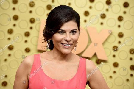 Stock Picture of Nilou Motamed arrives at the 71st Primetime Emmy Awards, at the Microsoft Theater in Los Angeles