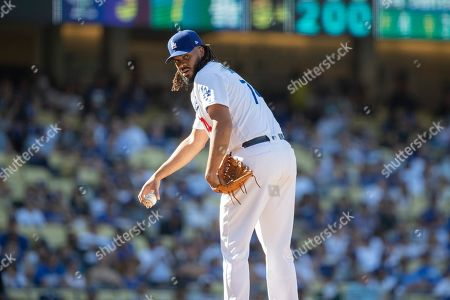 Editorial picture of Rockies Dodgers Baseball, Los Angeles, USA - 22 Sep 2019