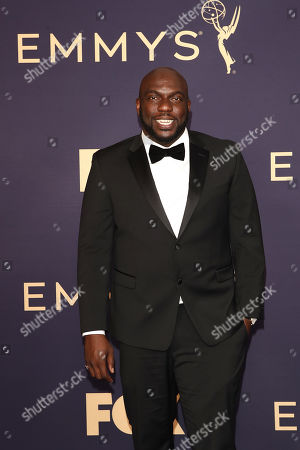 Omar Dorsey arrives for the 71st annual Primetime Emmy Awards ceremony held at the Microsoft Theater in Los Angeles, California, USA, 22 September 2019. The Primetime Emmys celebrate excellence in national primetime television broadcasting.