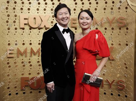 Ken Jeong and Tran Ho arrives for the 71st annual Primetime Emmy Awards ceremony held at the Microsoft Theater in Los Angeles, California, USA, 22 September 2019. The Primetime Emmys celebrate excellence in national primetime television broadcasting.