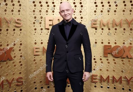 Anthony Carrigan arrives for the 71st annual Primetime Emmy Awards ceremony held at the Microsoft Theater in Los Angeles, California, USA, 22 September 2019. The Primetime Emmys celebrate excellence in national primetime television broadcasting.