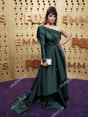 Lilly Singh arrives for the 71st annual Primetime Emmy Awards ceremony held at the Microsoft Theater in Los Angeles, California, USA, 22 September 2019. The Primetime Emmys celebrate excellence in national primetime television broadcasting.